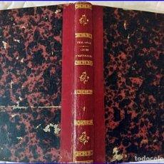 Coleccionismo deportivo: AÑO 1853: CURSO DE HÍPICA. LIBRO ILUSTRADO DEL SIGLO XIX.. Lote 195251476
