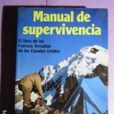Coleccionismo deportivo: MANUAL DE SUPERVIVENCIA; MARTINEZ ROCA. Lote 195252507