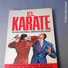 Coleccionismo deportivo: EL KARATE. Lote 195486717