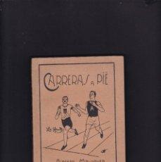 Coleccionismo deportivo: ATLETISMO - CARRERAS A PIÉ - ALBERTO MALUQUER - LIBRERIA SINTES / BARCELONA - ILUSTRADO. Lote 196196025
