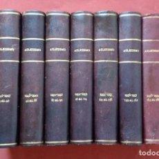 Coleccionismo deportivo: FEDERACION CATALANA DE ATLETISMO - COLECCION DE LOS 210 PRIMEROS BOLETINES (1 AL 210 ) - 1944-61. Lote 198556335