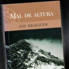 Collectionnisme sportif: MAL DE ALTURA, JON KRAKAUER. Lote 198727493
