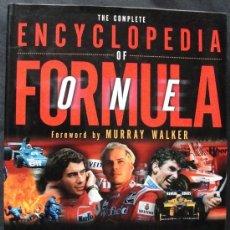 Coleccionismo deportivo: THE COMPLETE ENCYCLOPEDIA OF FORMULA ONE - CARLTON BOOKS, 1998 - PRIMERA EDICION -. Lote 199169591