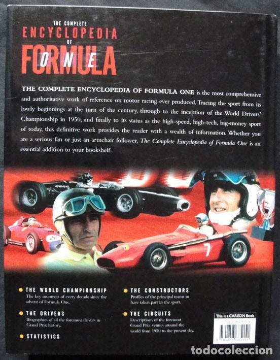Coleccionismo deportivo: THE COMPLETE ENCYCLOPEDIA OF FORMULA ONE - CARLTON BOOKS, 1998 - PRIMERA EDICION - - Foto 5 - 199169591