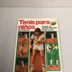 Coleccionismo deportivo: TENIS PARA NIÑOS. Lote 199369887