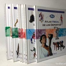 Coleccionismo deportivo: ATLAS VISUAL DE LOS DEPORTES ·· 9 TOMOS ·· CLANNAD ED.. Lote 40035220
