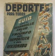 Coleccionismo deportivo: DEPORTES PARA TODOS - DR. VANDER - BARCELONA, 1949. Lote 200791745