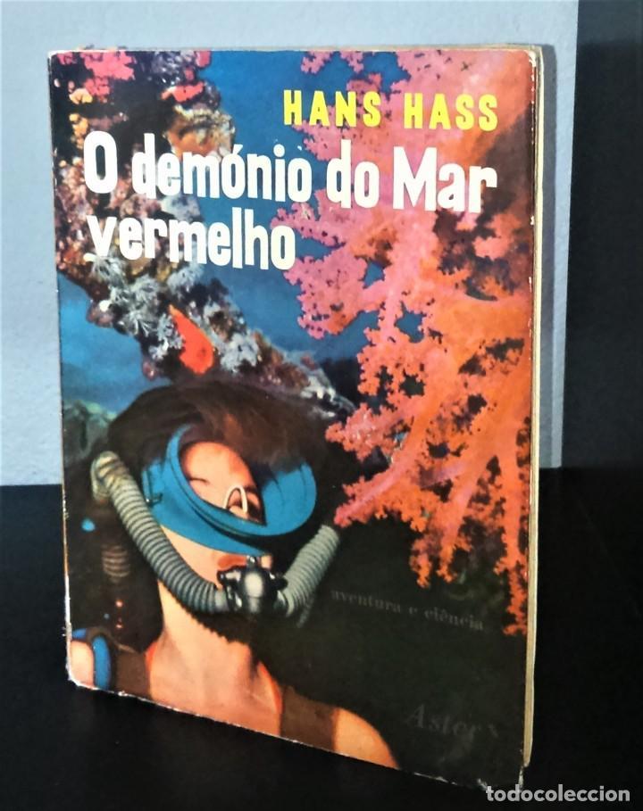 O DEMÓNIO DO MAR VERMELHO DE HANS HASS (Coleccionismo Deportivo - Libros de Deportes - Otros)