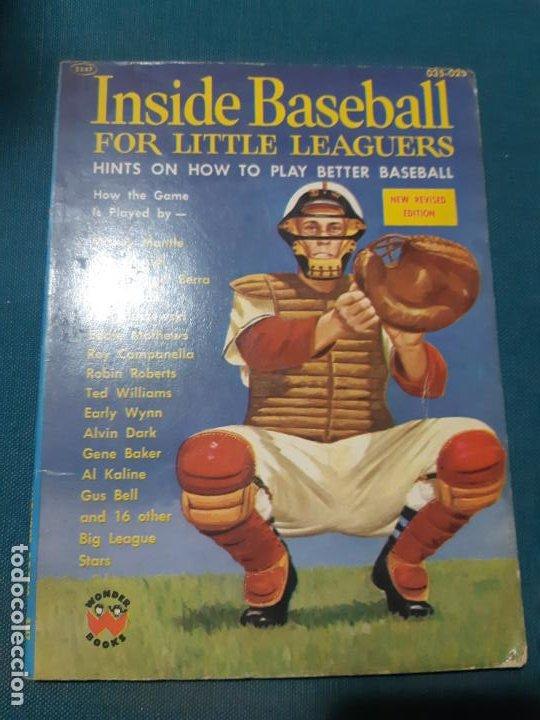 ISIDE BASEBALL. FOR LITTLE LEAGUERS, 1957, UNA CURIOSIDAD, PARA LOS FANATICOS DEL BEISBOL (Coleccionismo Deportivo - Libros de Deportes - Otros)