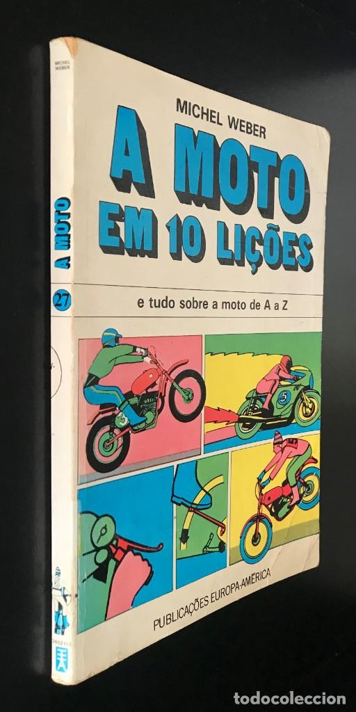 Coleccionismo deportivo: A Moto em 10 Lições -Tudo sobre a Moto de A a Z de Michel Webber - Foto 8 - 200918071