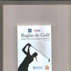Coleccionismo deportivo: 1731. REGLAS DE GOLF. ENERO 2016. Lote 201759538