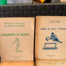 Coleccionismo deportivo: 8 CUADERNOS DEPORTES FRENTE JUVENTUDES FALANGE ESPAÑOLA DE 1947-1951. Lote 203264220