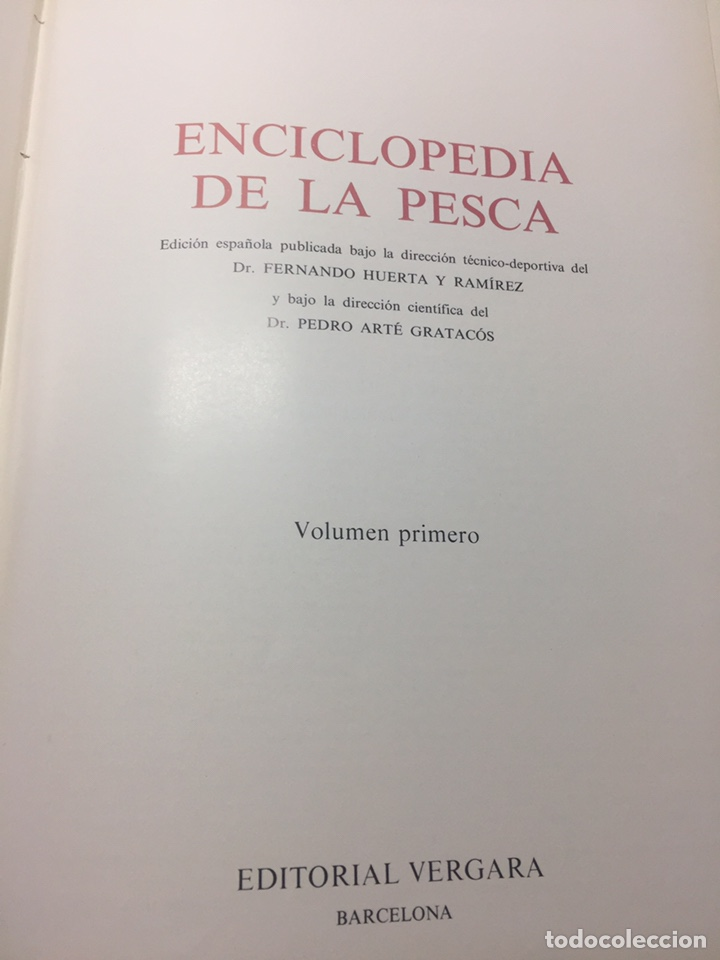 Coleccionismo deportivo: Enciclopedia de la Pesca - Foto 12 - 204474670