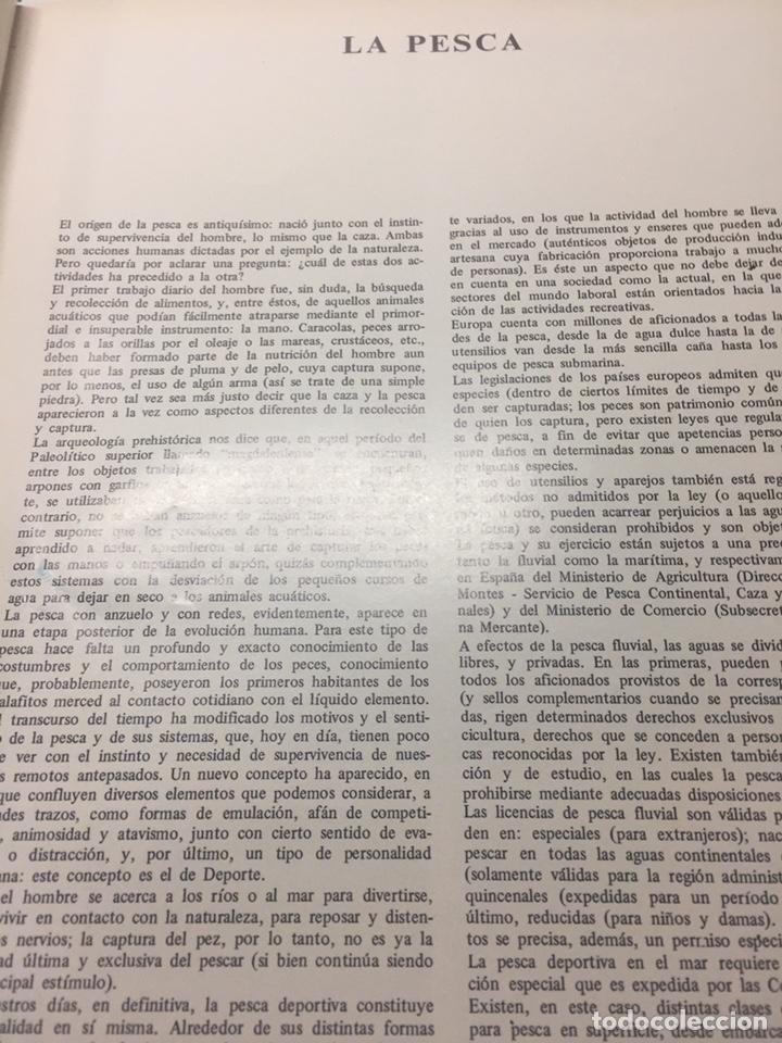 Coleccionismo deportivo: Enciclopedia de la Pesca - Foto 13 - 204474670