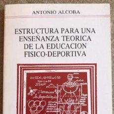 Coleccionismo deportivo: ESTRUCTURA PARA UNA ENSEÑANZA TEÓRICA DE LA EDUCACIÓN FÍSICO - DEPORTIVA - COMITÉ OLÍMPICO ESPAÑOL. Lote 206148031