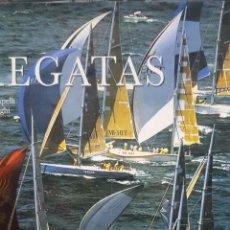 Coleccionismo deportivo: BONTEMPELLI, LUCA Y BORLENGHI: REGATAS. EDICION EN ESPAÑOL MAGNÍFICAS FOTOGRAFÍAS.. Lote 206217058