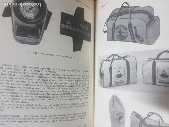 Coleccionismo deportivo: Submarinismo Buceo - Por debajo de la Cota Cero - Luis Avila Recatero - 1991 Barcelona - Foto 3 - 206396188