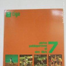 Coleccionismo deportivo: TIGO EL DEPORTE Y SUS INSTALACIONES ELEMENTALES Nº 7. PISTAS POLIDEPORTIVAS AL AIRE LIBRE. TDK389B. Lote 206458522