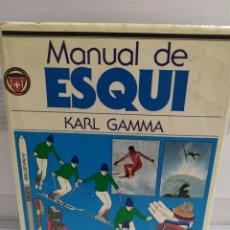 Coleccionismo deportivo: MANUAL DE ESQUI / KARL GAMMA / H. BLUME EDICIONES 1ª EDICIÓN 1982. Lote 206480780