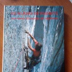 Collezionismo sportivo: ESCALADA EN YOSEMITE - UNA NUEVA DIMENSIÓN DEL ALPINISMO - GEORGE MEYERS 1979. Lote 206853185