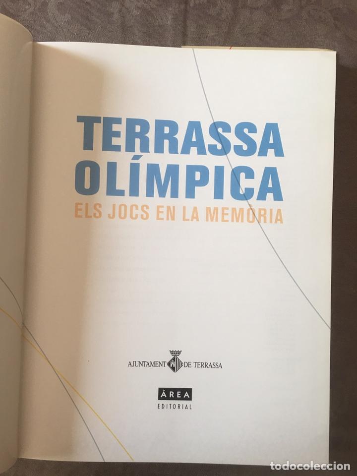 Coleccionismo deportivo: Libro Terrassa olímpica. Els jocs en la memòria. - Foto 2 - 206921547