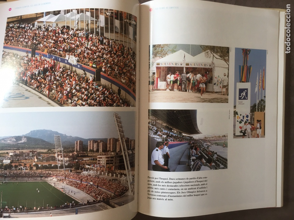 Coleccionismo deportivo: Libro Terrassa olímpica. Els jocs en la memòria. - Foto 4 - 206921547