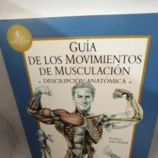 Coleccionismo deportivo: GUIA DE LOS MOVIMIENTOS DE MUSCULACIÓN: DESCRIPCIÓN ANATÓMICA. Lote 207207821