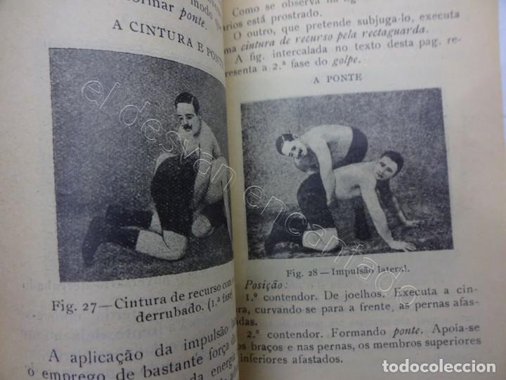 Coleccionismo deportivo: Cuadernillo muy ilustrado de lucha GRECO-ROMANA. Edición portuguesa 1917 - Foto 3 - 207483861