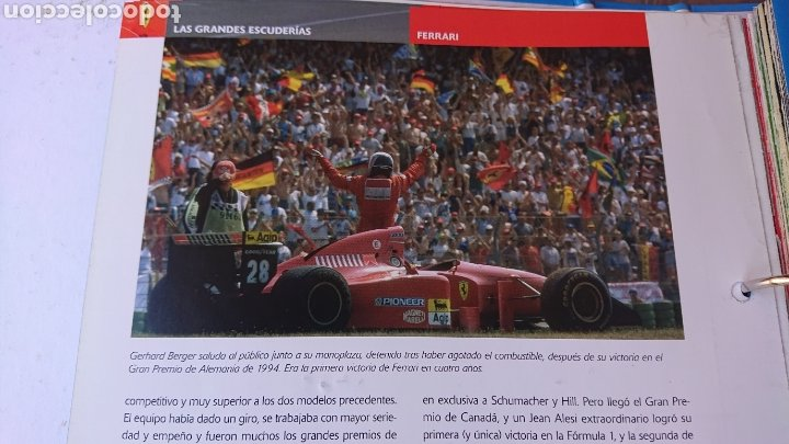 Coleccionismo deportivo: Libro archivador Formula 1 Fernando Alonso - Foto 5 - 207671681