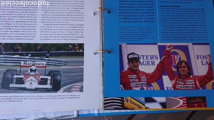 Coleccionismo deportivo: Libro archivador Formula 1 Fernando Alonso - Foto 6 - 207671681