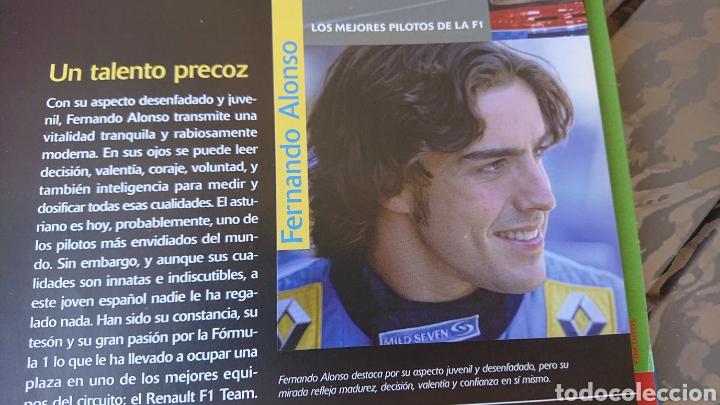 Coleccionismo deportivo: Libro archivador Formula 1 Fernando Alonso - Foto 7 - 207671681