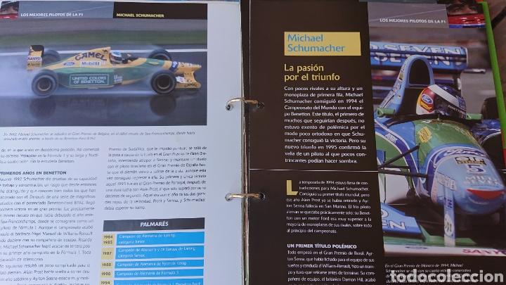 Coleccionismo deportivo: Libro archivador Formula 1 Fernando Alonso - Foto 8 - 207671681