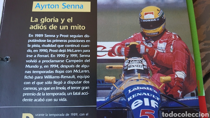 Coleccionismo deportivo: Libro archivador Formula 1 Fernando Alonso - Foto 9 - 207671681
