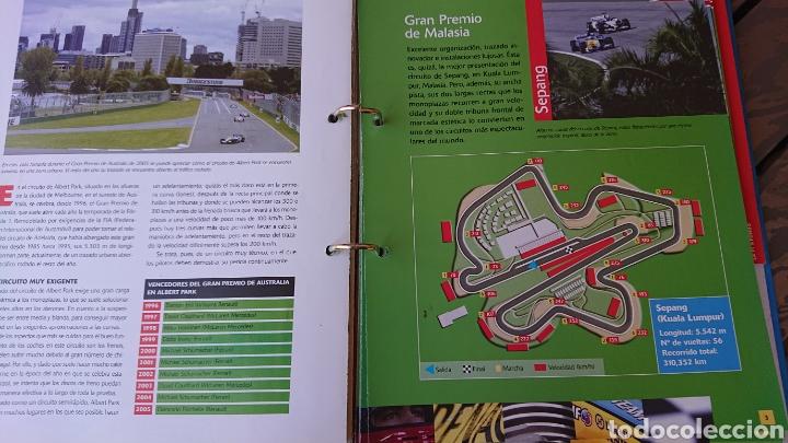 Coleccionismo deportivo: Libro archivador Formula 1 Fernando Alonso - Foto 10 - 207671681
