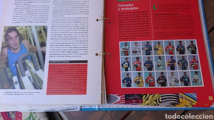 Coleccionismo deportivo: Libro archivador Formula 1 Fernando Alonso - Foto 14 - 207671681