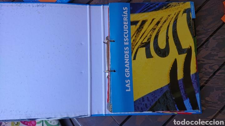 Coleccionismo deportivo: Libro archivador Formula 1 Fernando Alonso - Foto 19 - 207671681