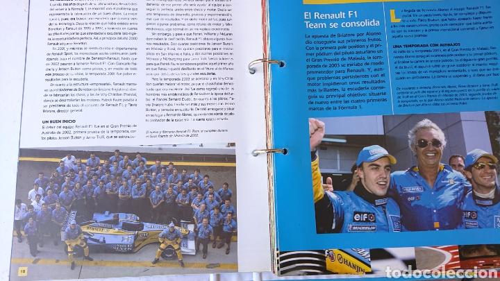 LIBRO ARCHIVADOR FORMULA 1 FERNANDO ALONSO (Coleccionismo Deportivo - Libros de Deportes - Otros)