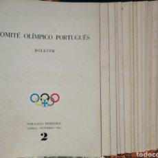 Coleccionismo deportivo: BOLETIN COMITE OLIMPICO PORTUGUÈS 20 EJEMPLARES (DEL 2 AL 22) 1961/1966. Lote 207768543