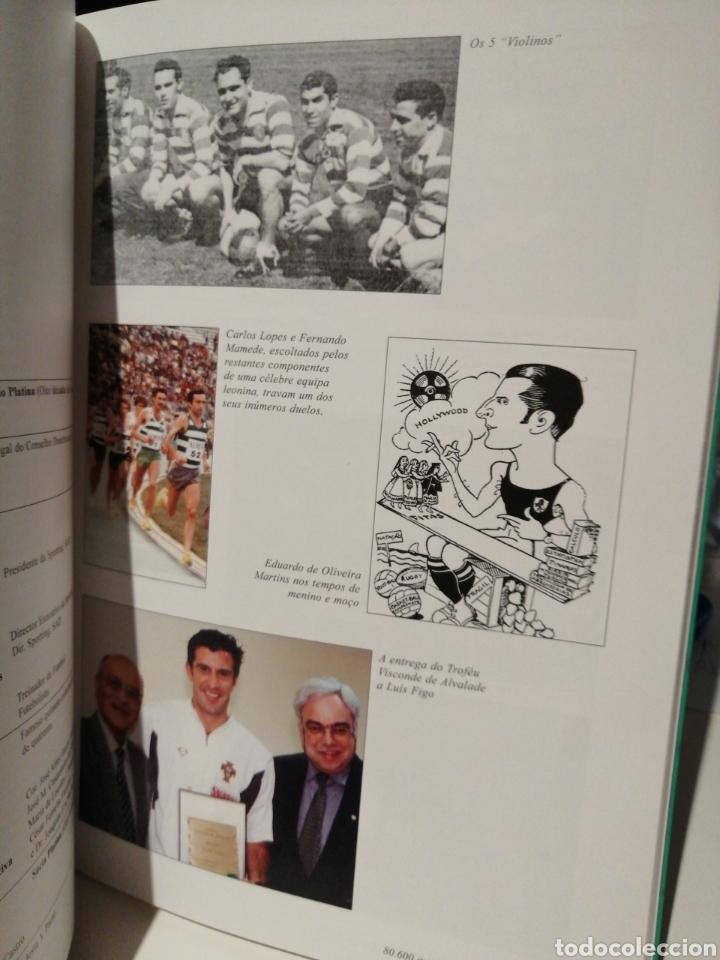 Coleccionismo deportivo: Libro del Cincuentenario del Sporting Club de Portugal - Foto 2 - 207835766