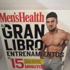 Coleccionismo deportivo: EL GRAN LIBRO DE ENTRENAMIENTOS EN 15 MINUTOS (MEN'S HEALTH) DE SELENE YEAGER. Lote 207844285