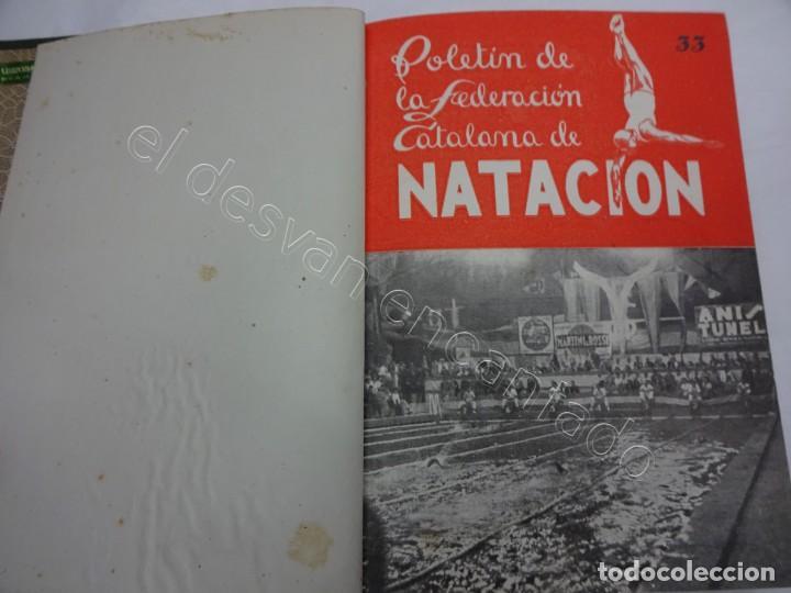 BOLETIN FEDERACION CATALANA DE NATACION. AÑO 1947. COMPLETO EN UN TOMO (Coleccionismo Deportivo - Libros de Deportes - Otros)