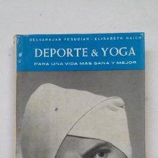 Colecionismo desportivo: SELVARAJAN YESUDIAN. DEPORTE & YOGA. - EDICIONES GARRIGA 1967. TDK183. Lote 208236133
