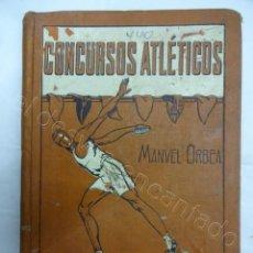 Coleccionismo deportivo: CONCURSOS ATLETICOS. LIBRO COLECCION LOS SPORTS. AÑO 1919. Lote 208238458