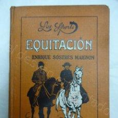Coleccionismo deportivo: EQUITACION. LIBRO COLECCION LOS SPORTS. AÑO 1915. Lote 208238593