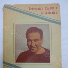 Colecionismo desportivo: FEDERACION ESPAÑOLA DE NATACION. ANUARIO 1958. Lote 208494876