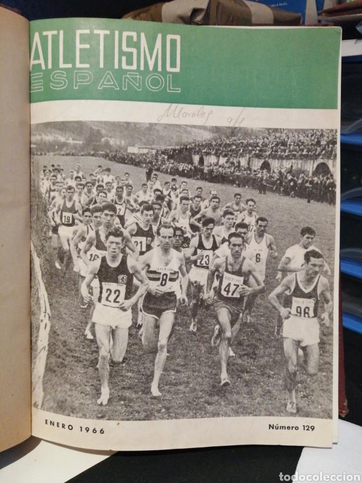 ATLETISMO ESPAÑOL PUBLICACION OFICIAL DE LA FEDERACION ESPAÑOLA DE ATLETISMO AÑO 1966 COMPLETO (Coleccionismo Deportivo - Libros de Deportes - Otros)