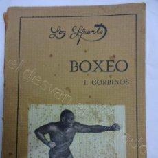 Coleccionismo deportivo: BOXEO. COLECCION LOS SPORTS. JACK DEMPSEY. Lote 208571913