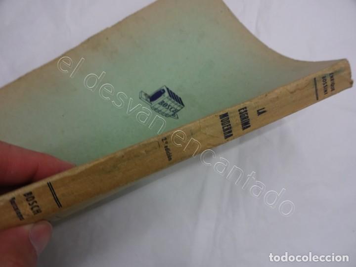 Coleccionismo deportivo: LA ESGRIMA MODERNA. Enrique Bossini. Tratado esgrima-florete-espada-sable. Edición corregida 1946 - Foto 4 - 208753670