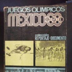 Coleccionismo deportivo: JUEGOS OLIMPICOS MEXICO 68. TODOS LOS DATOS DE LOS JUEGOS.. Lote 208866758