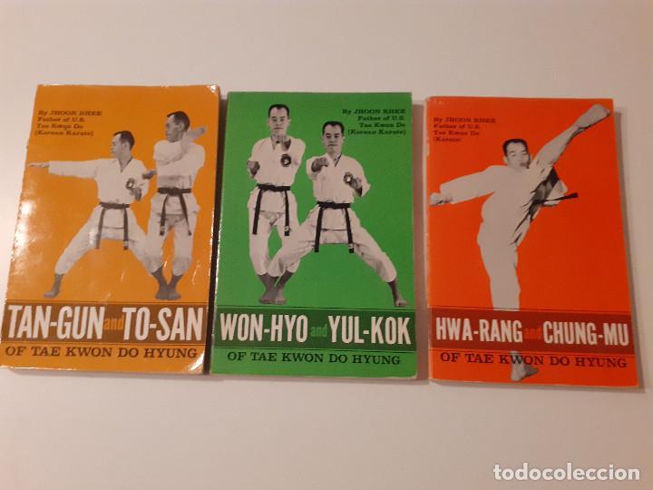 LOTE DE 3 LIBROS DE TAEKWONDO (EN INGLÉS) - JHOON RHEE (Coleccionismo Deportivo - Libros de Deportes - Otros)